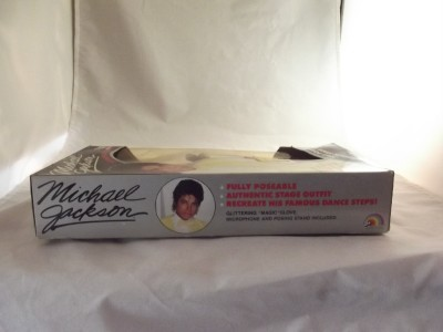 Michael Jackson Beat It Doll Original Box Figure Great Superstars of