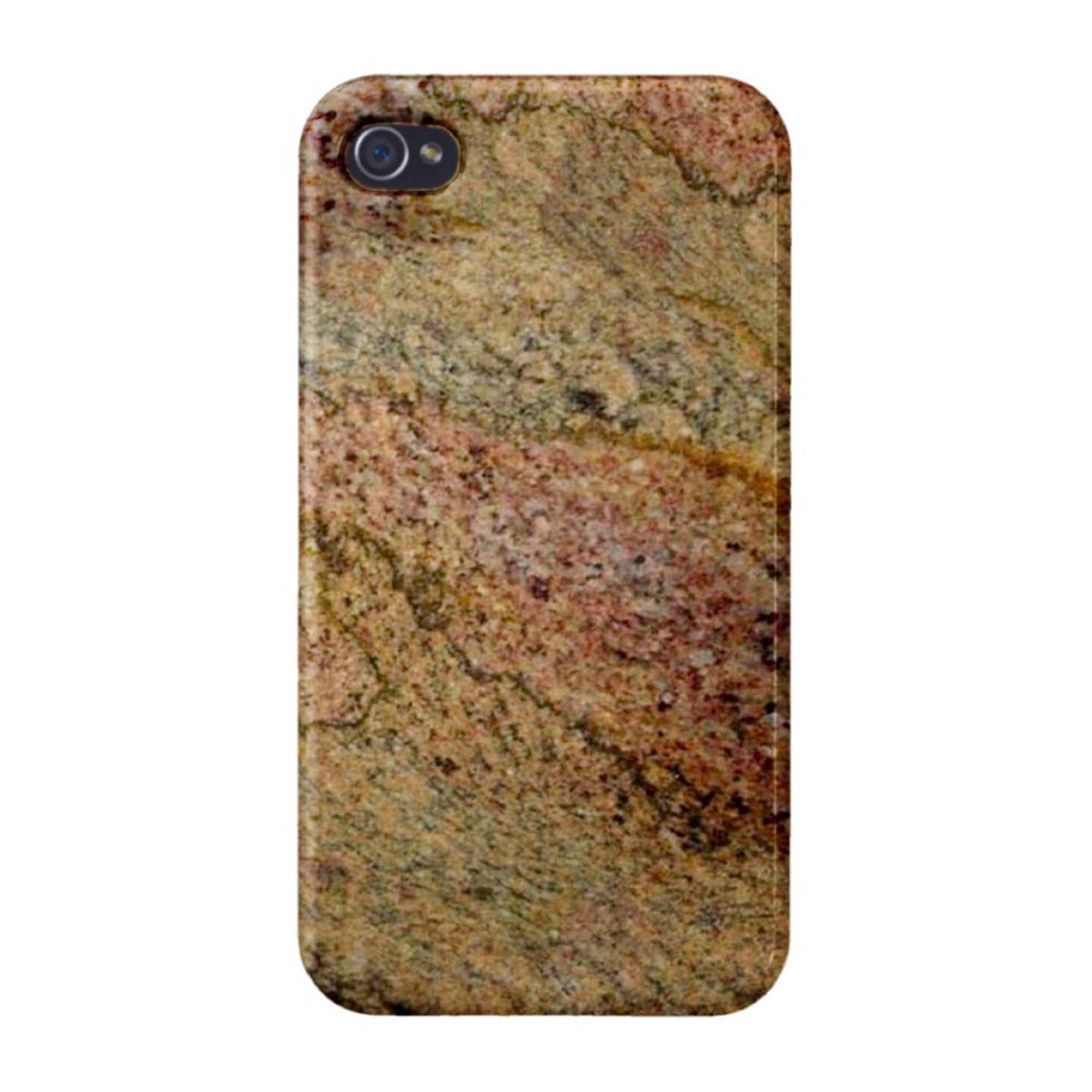 Avocado Brown Granite Marble Texture CUSTOM Cover Case Skin iPhone 4 ...