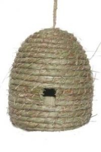 6 fake decorative artificial craft bee hive 6 bee hives for Artificial bees for decoration