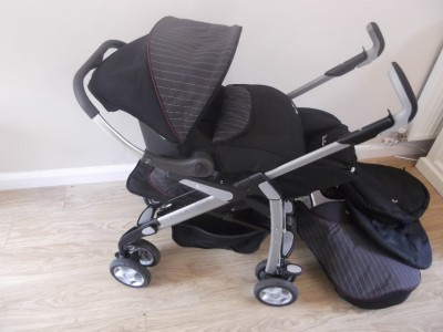 silver cross 3d complete travel system with ventura car seat great condition ebay. Black Bedroom Furniture Sets. Home Design Ideas