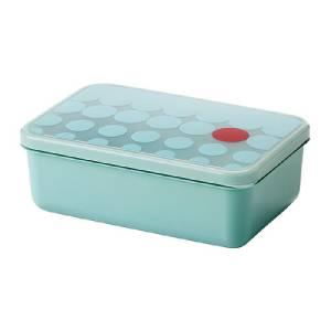 ikea lunch box picnic work food storage container leak proof light blue new ebay. Black Bedroom Furniture Sets. Home Design Ideas