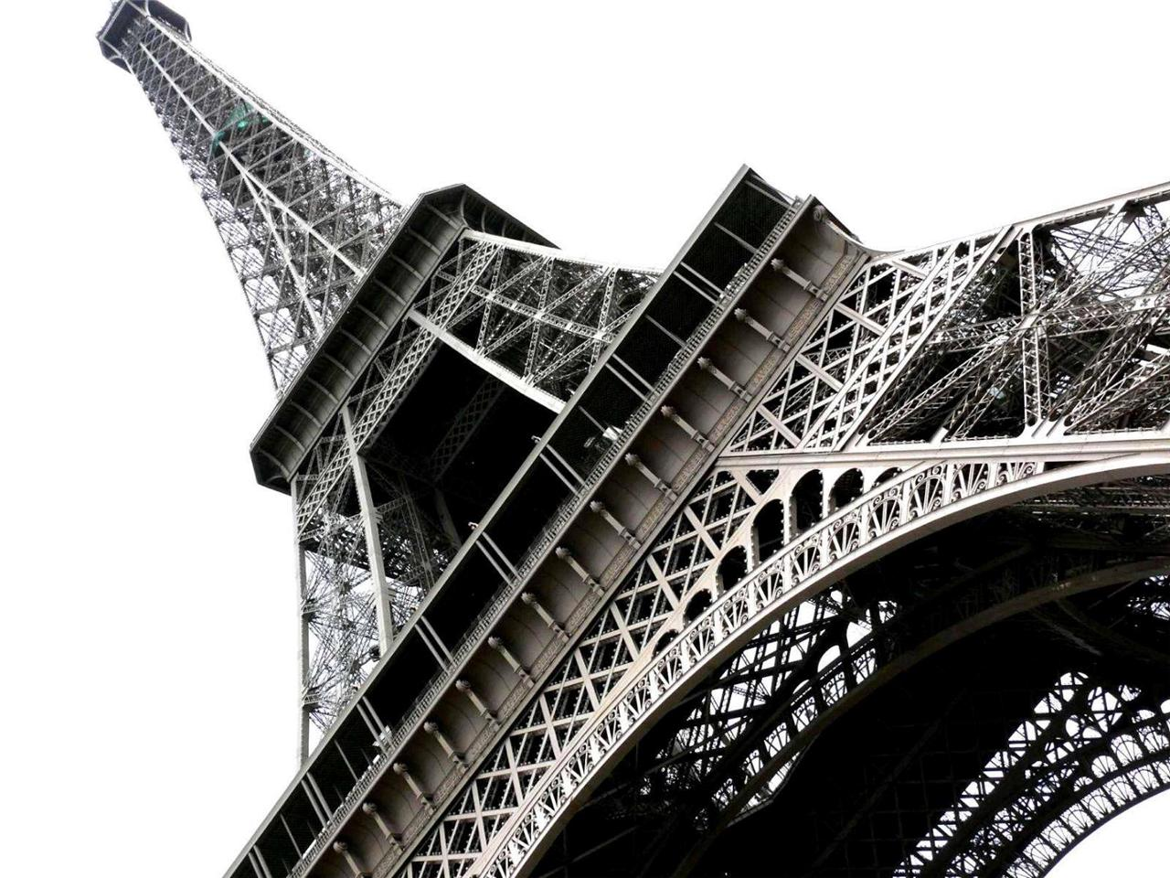 ikea paris eiffel tower canvas picture wall decor 78x55 new