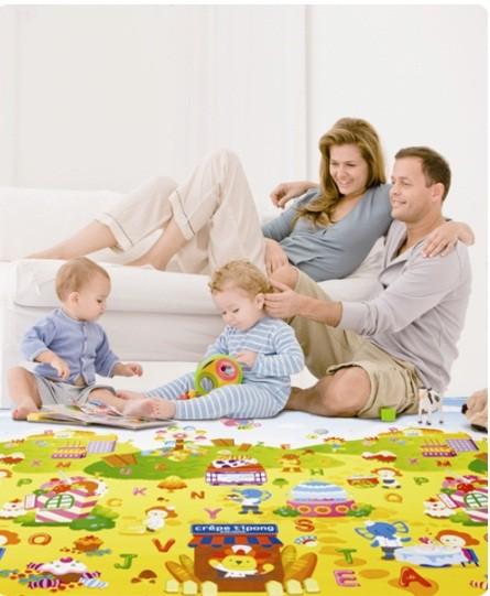 Dwinguler Kid S Playmat Baby Rug Kids Floor Mat Animal