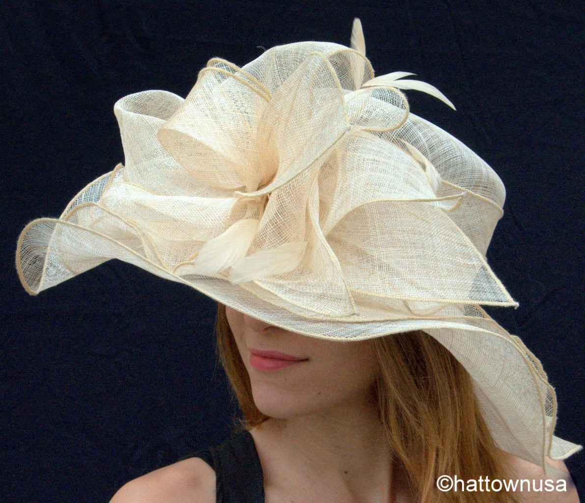 womens crown kentucky derby hat new sinamay