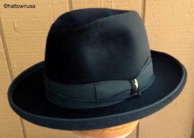 new borsalino hat formal homburg godfather fedora black. Black Bedroom Furniture Sets. Home Design Ideas