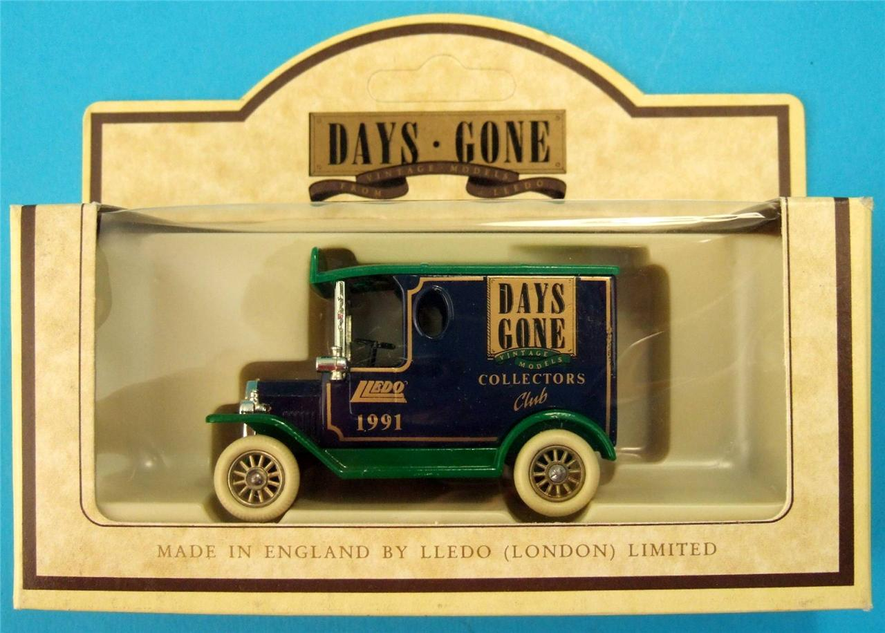 Lledo Diecast Promotional Edition Model Van Car Bus