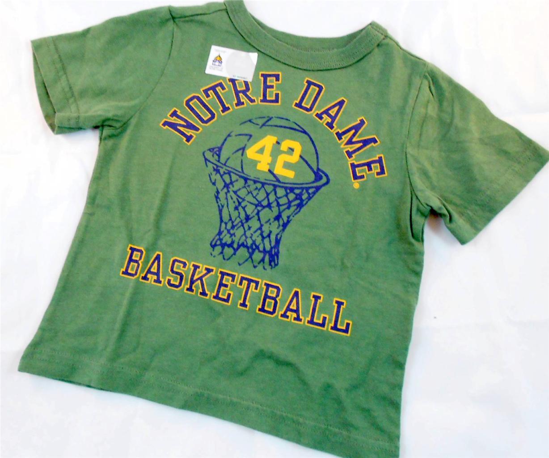 new notre dame basketball toddler t shirt team apparel