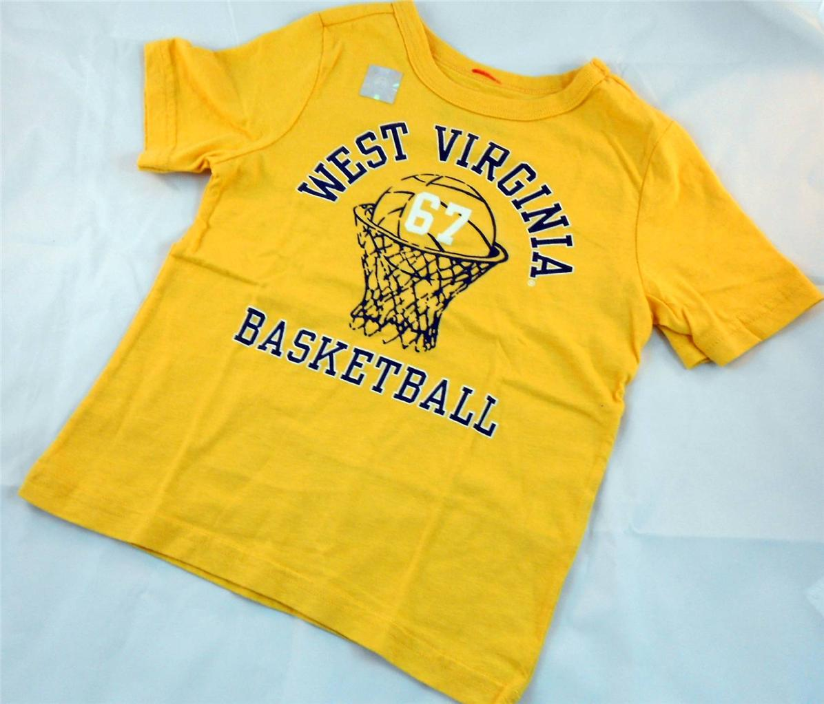 New West Virginia Basketball Toddler T Shirt Tee Team