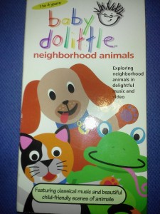 Pics Photos Baby Einstein Co Dolittle Vhs Video Tape Fun For 1