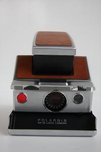 Working POLAROID SX 70 Land Camera Instant Camera Case,