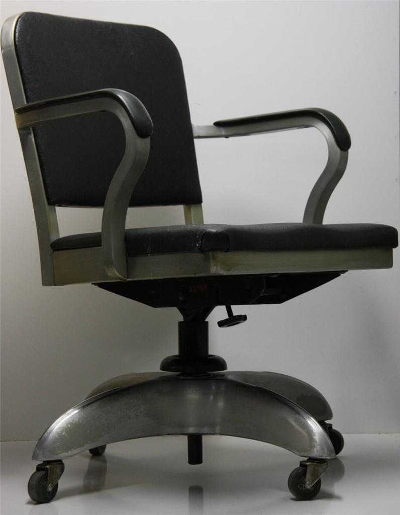 MACHINE AGE GOODFORM GOOD FORM EMECO OFFICE CHAIR ALUMINUM