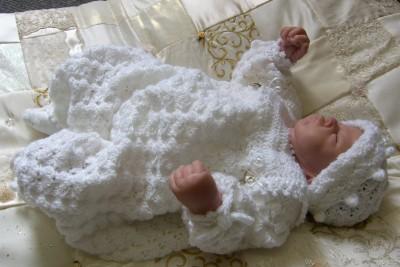 Easy Crochet Baby Boy Clothes Patterns : CROCHET PATTERN **BABY HEIRLOOM CHRISTENING SUIT SET** eBay