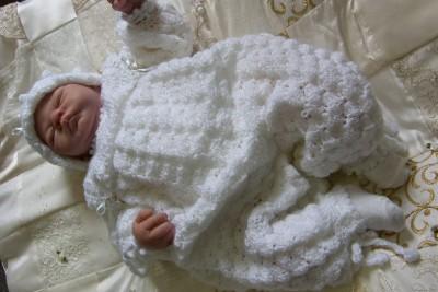 CROCHET PATTERN **BABY HEIRLOOM CHRISTENING SUIT SET** eBay