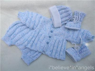 Knitting Pattern Paper : PAPER KNITTING PATTERN TO MAKE *JAZZIE ROCK* PLEAT COAT SET FOR BABY/REBORN ...