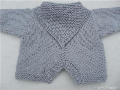 Knitting Pattern Paper : PAPER KNITTING PATTERN TO MAKE *HOPPITY* BUNNY BABY/DOLL ROMPER SET IN 3 SIZE...