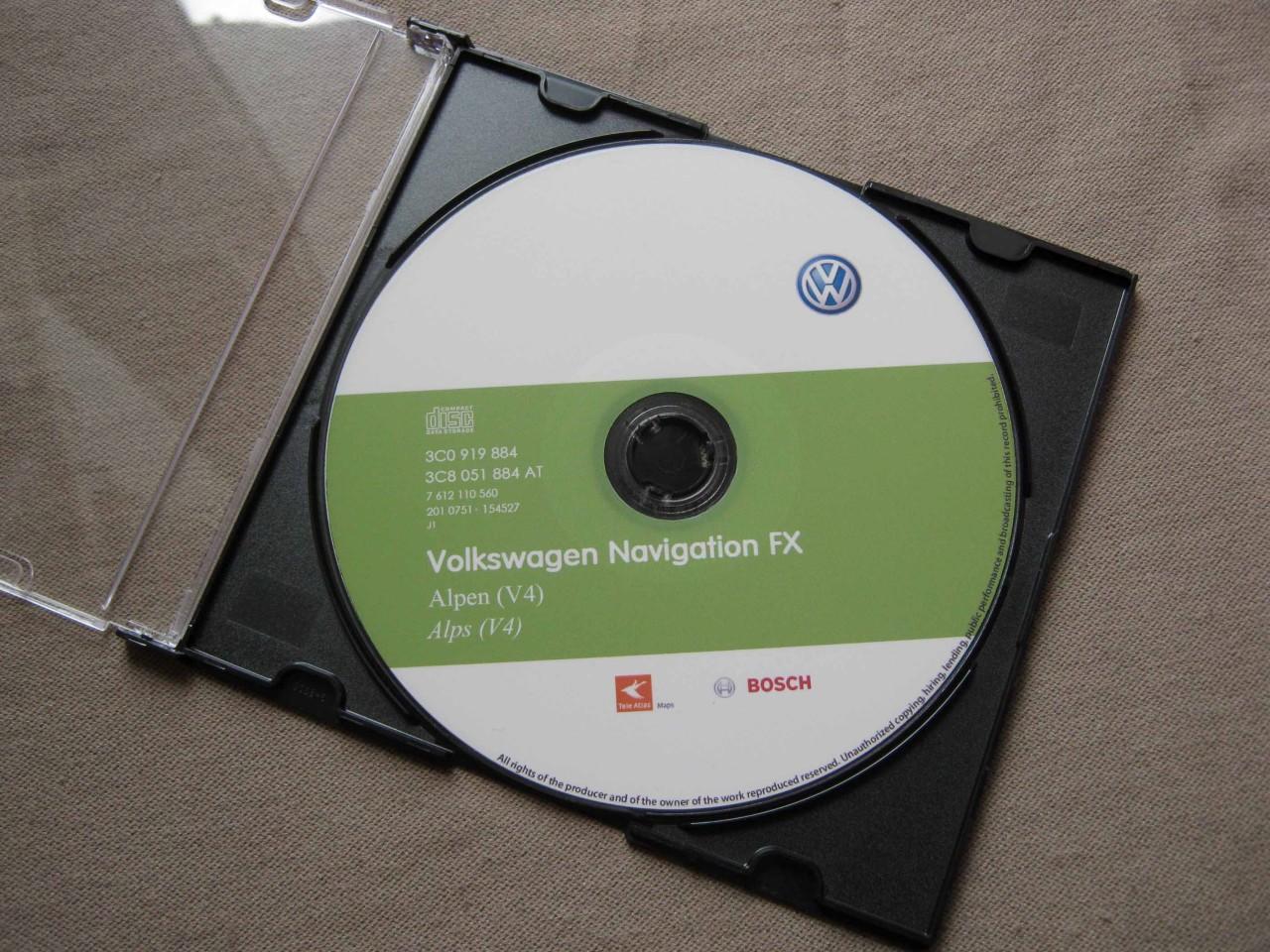 rns310 vw skoda seat navigation cd alpen v4 2012 rns 310. Black Bedroom Furniture Sets. Home Design Ideas