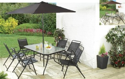 Florida 8 Piece Patio Garden Set BRAND NEW BBQ Outside Chairs Table P