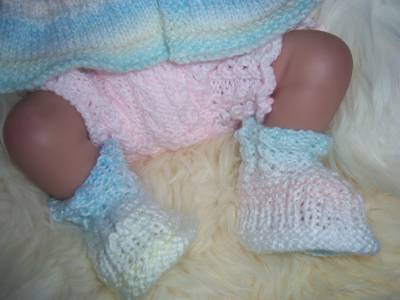 KNITTED BABY CLOTHES/OUTFIT FOR REBORN/BABY/DOLLS CLOTHES ...