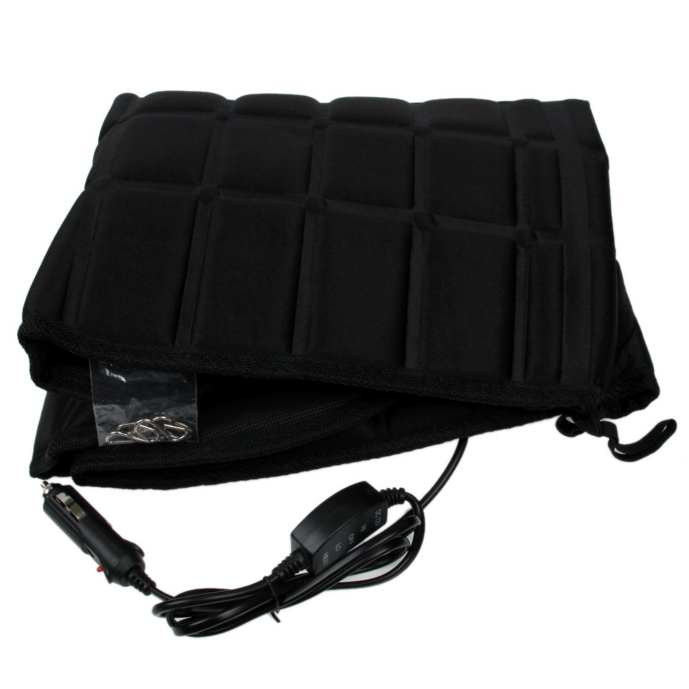 new car heated seat cushion hot cover auto 12v heat heating warmer pad winter ebay. Black Bedroom Furniture Sets. Home Design Ideas