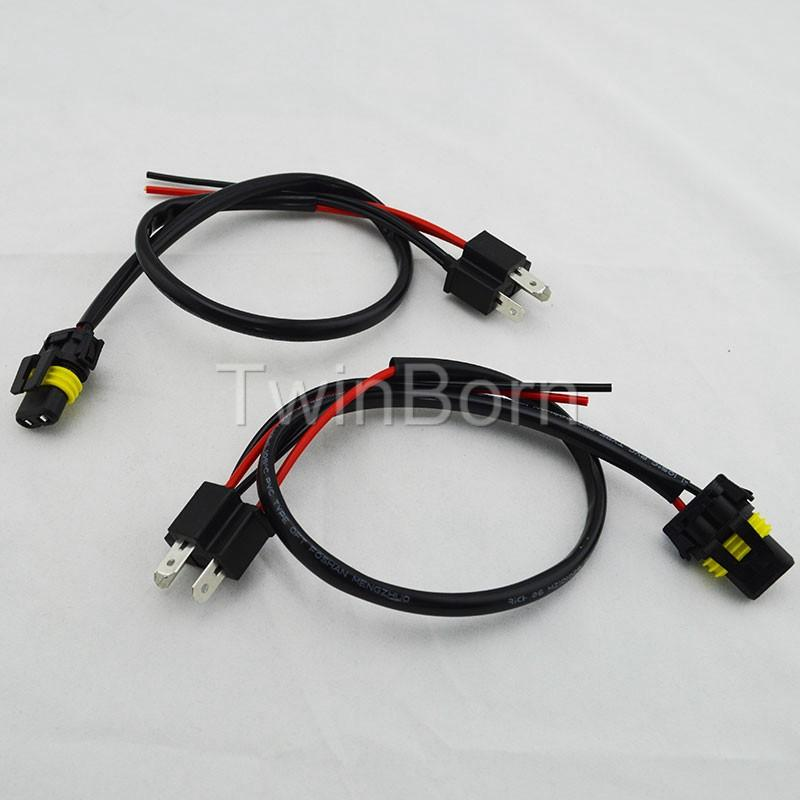 For H4 9003 Hb2 Hid Bixenon Conversion Wiring Harness