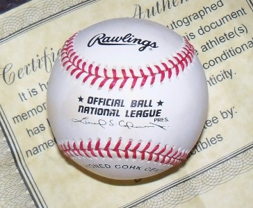 Mark McGwire Autographed Auto Signed Rawlings Baseball w COA