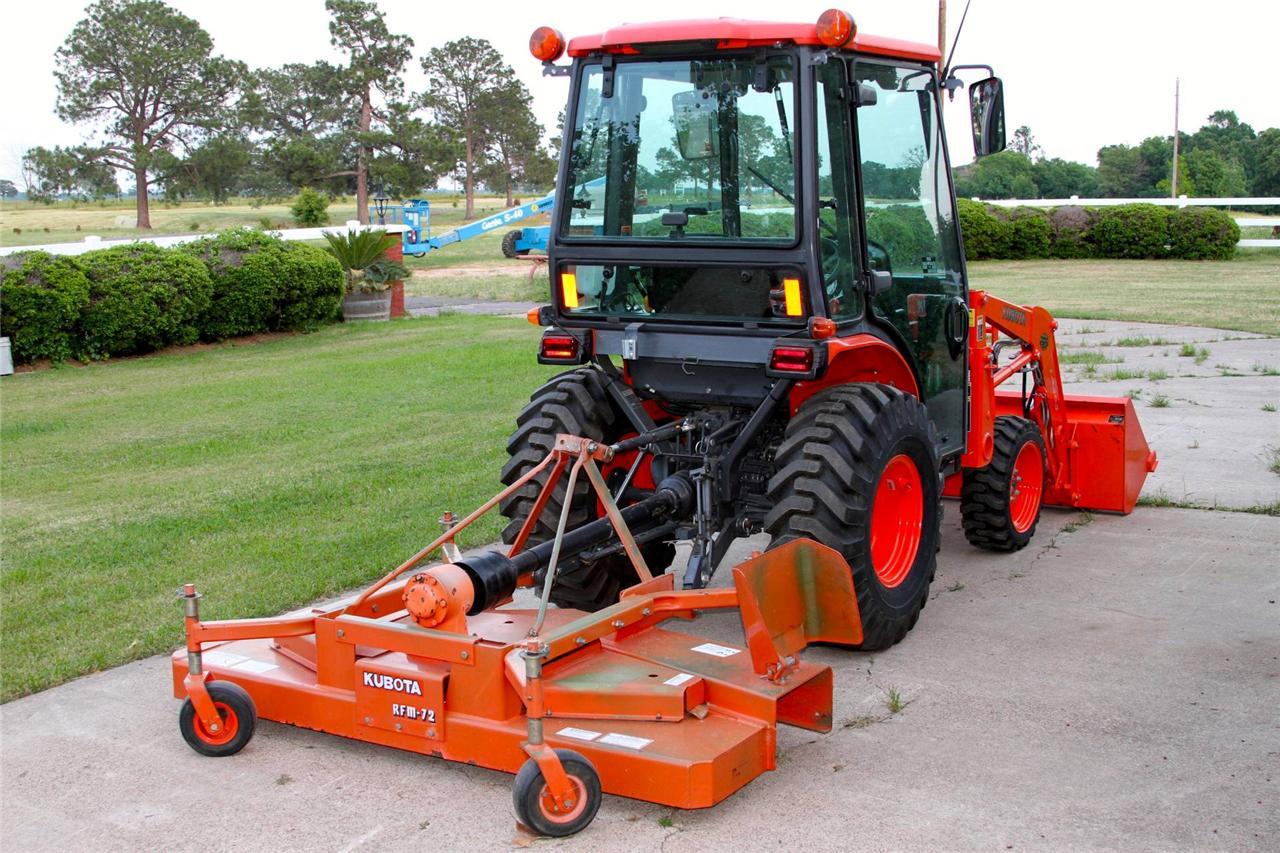 Kubota Tractor Tires R4 : Kubota b cab tractor with loader