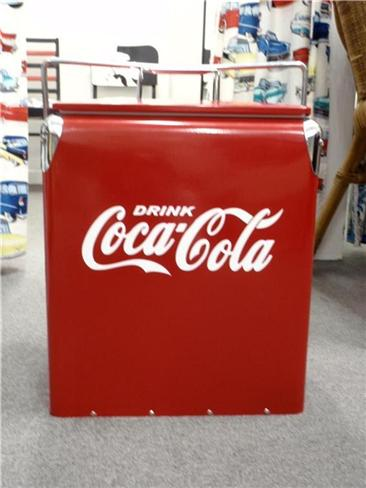 Retro ice cooler esky keep your coke cold ebay for 1 door retro coke cooler