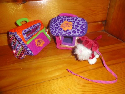 groovy girls doll dog with dog house dog carrier