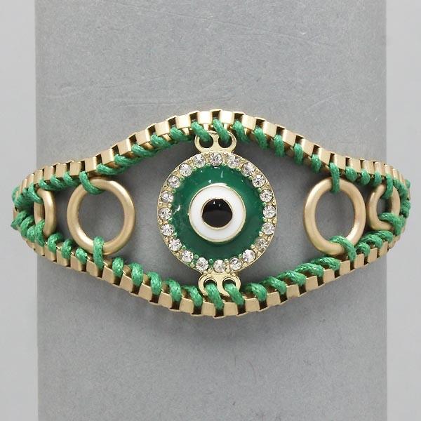 Kim-Kardashian-Evil-Eye-Basketball-Wives-Poparazzi-Bracelet-Fast-Free-Shipping