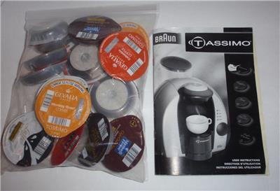 Gevalia Coffee Maker Not Working : Braun Tassimo 3107 One Cup Coffee Maker w Manual Assorted T Discs Works LN eBay