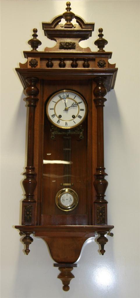 Antique 188039s 190039s german regulator wall clock works for German pendulum wall clocks