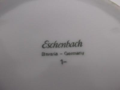 vintage eschenbach bavaria germany porcelain ashtray cigarette holder art deco ebay. Black Bedroom Furniture Sets. Home Design Ideas