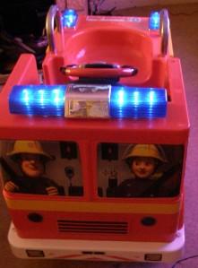 Fireman Sam Battery Powered (12V) Ride-On Fire Engine ...