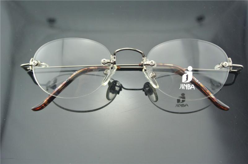 Vintage Rimless Oval Glasses Mens & Women Eyeglass Frames ...