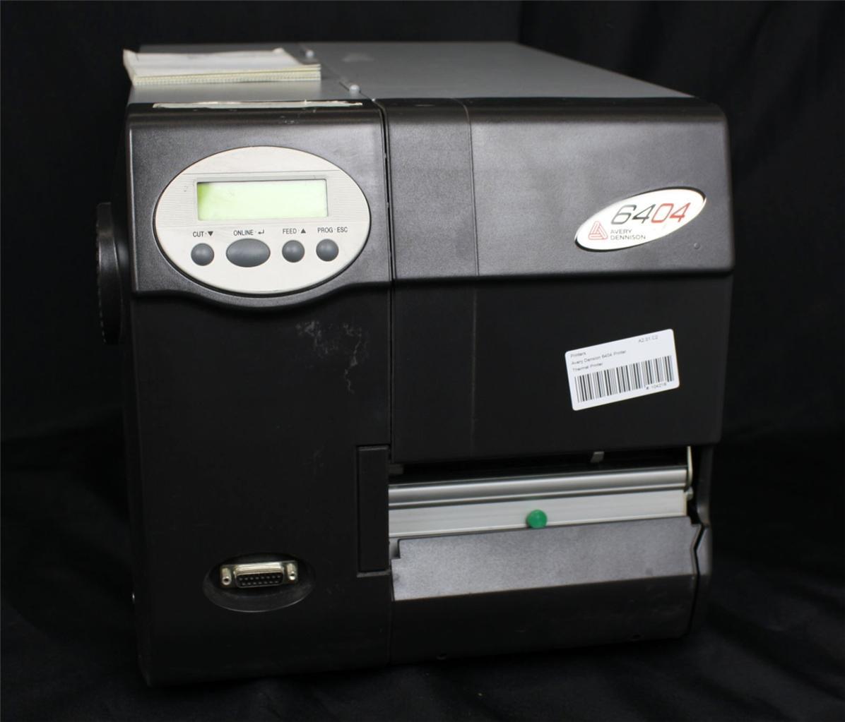 Custom Card Template avery label printer : Avery Dennison 6404 Printer Label Thermal Printer : eBay