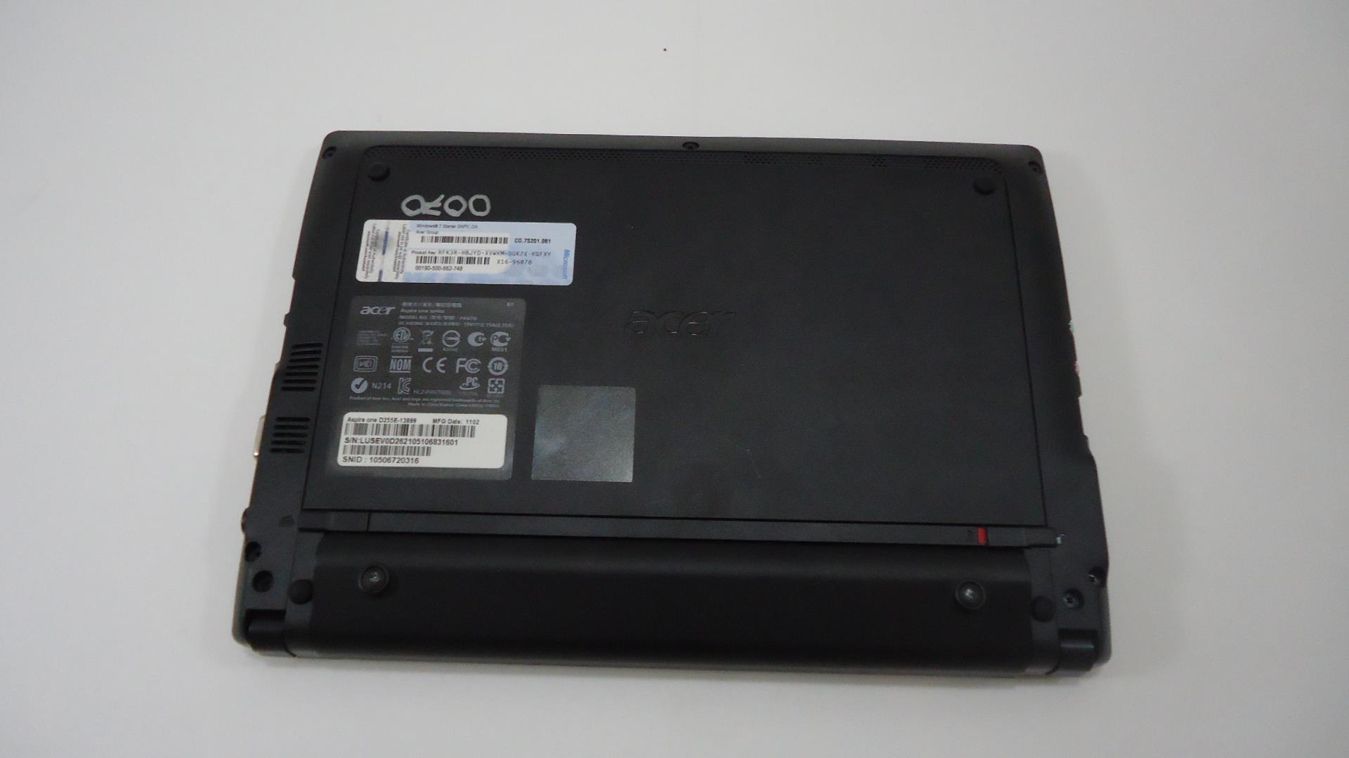 2gb DI MEMORIA RAM PER ACER ASPIRE ONE d255 Atom n550 ddr3-10600
