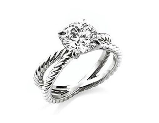 David Yurman Crossover Ring Ebay