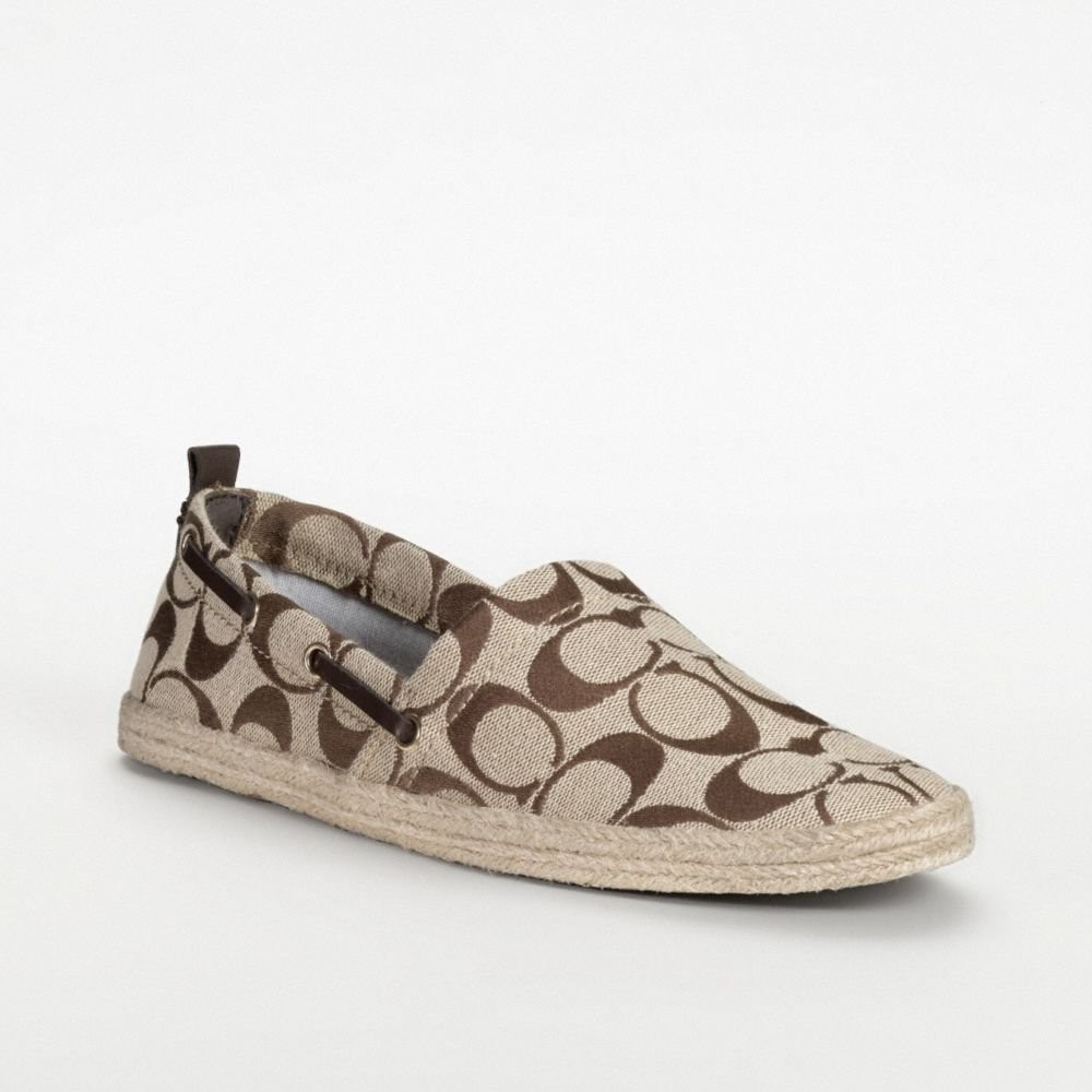 Coach Flat Shoes On Sale