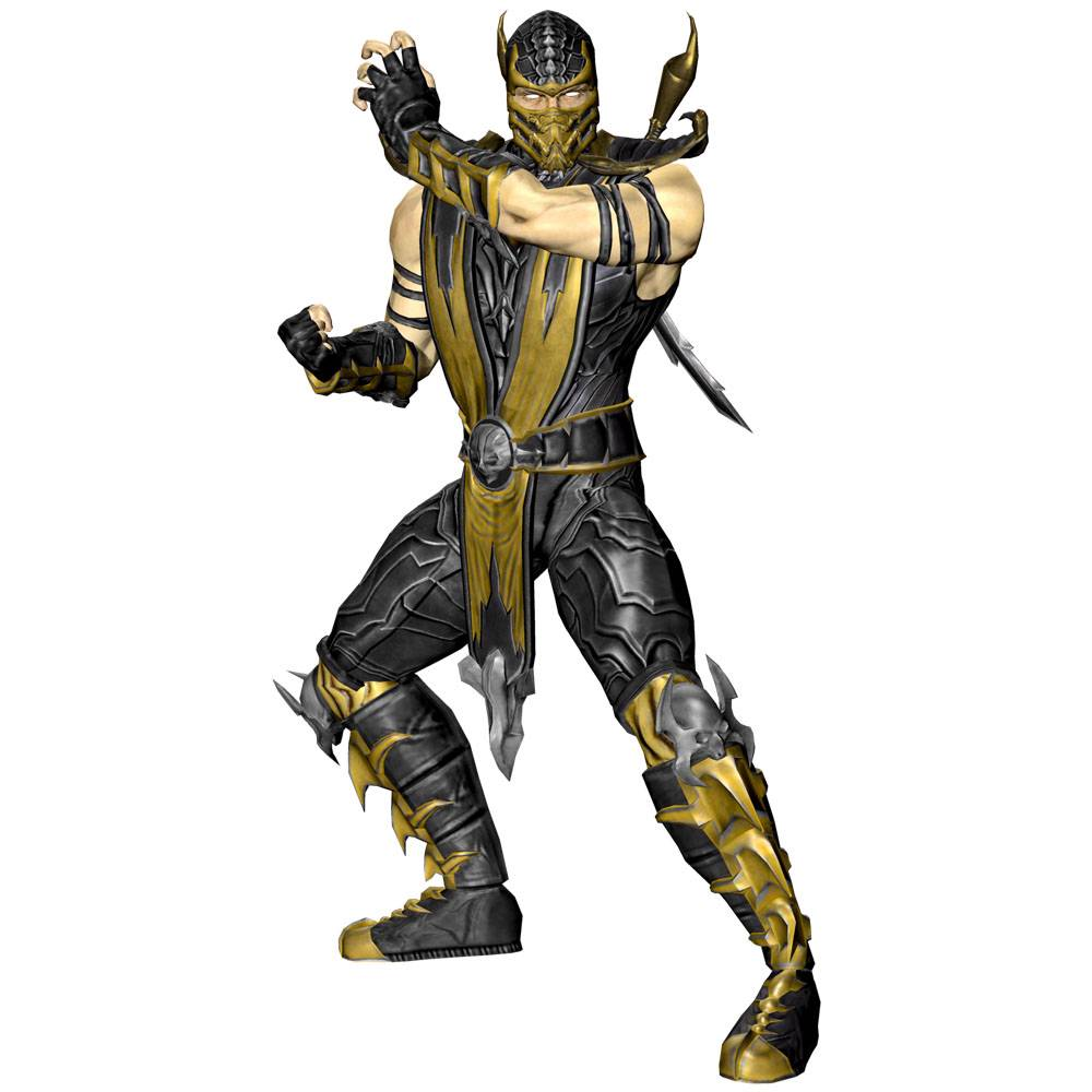 Huge Scorpion Wall Sticker Mortal Kombat Removable Decal