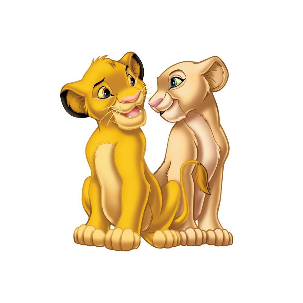 lion king wall sticker simba nala decal disney removable lion king nursery lion king wall decal lion king wall art
