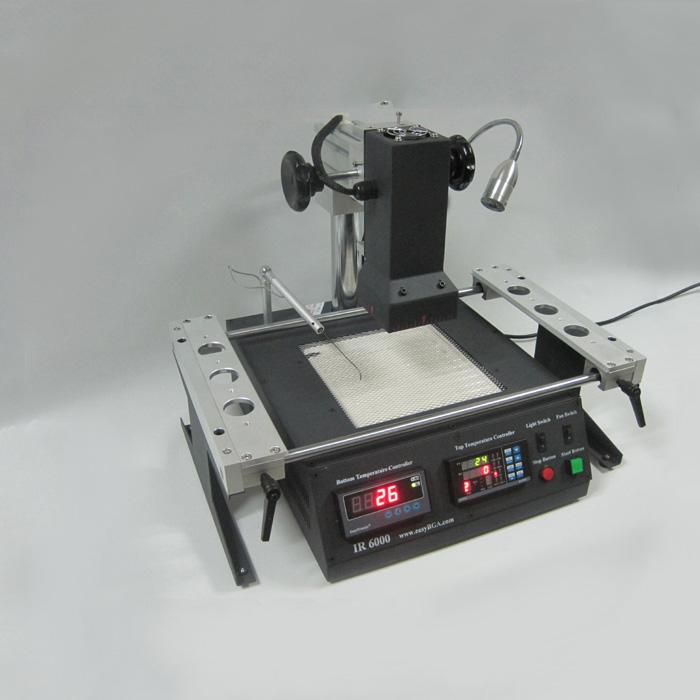 au ir6000 infrared bga rework reflow station reballing soldering welding station ebay. Black Bedroom Furniture Sets. Home Design Ideas