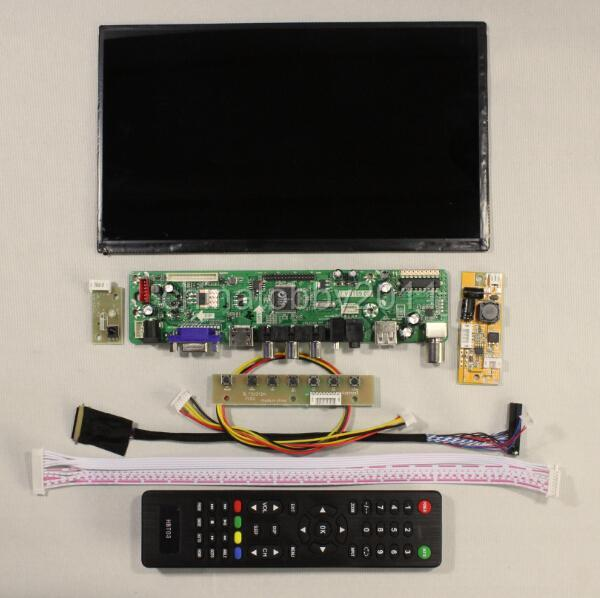 TV HDMI/VGA AV USB AUDIO LCD controller Board 10.1inch ...