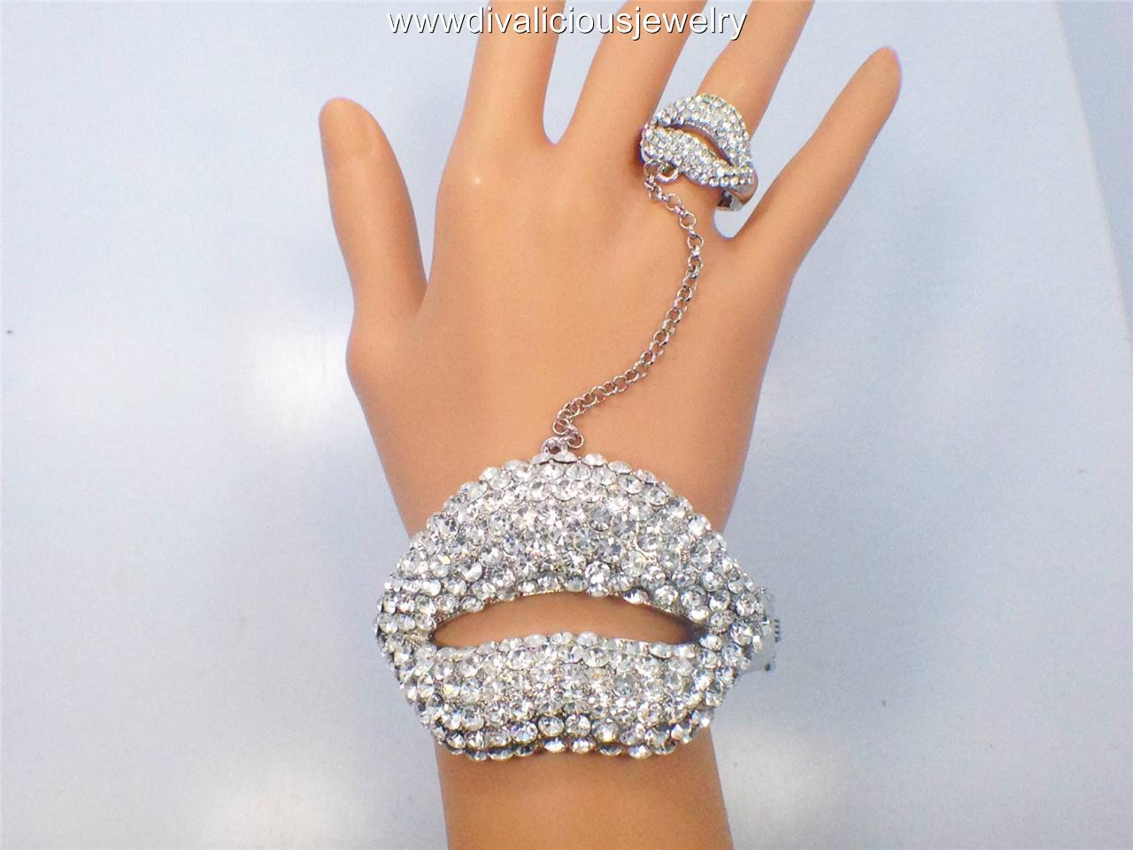 Juicy-Crystal-Lip-slave-ring-bracelet-3-Colors