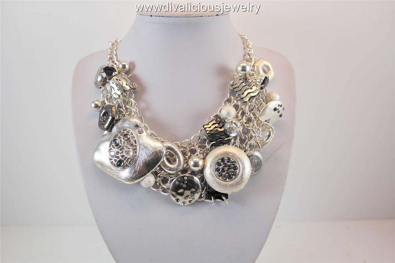 Chabella Chain Compilation Diva Necklace - 3 Colors