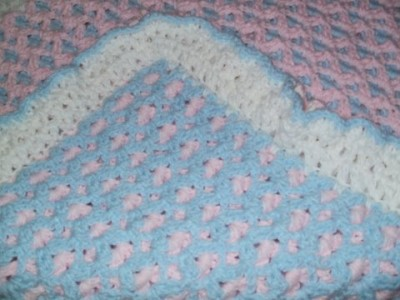 Double Sided Crochet Blanket Pattern