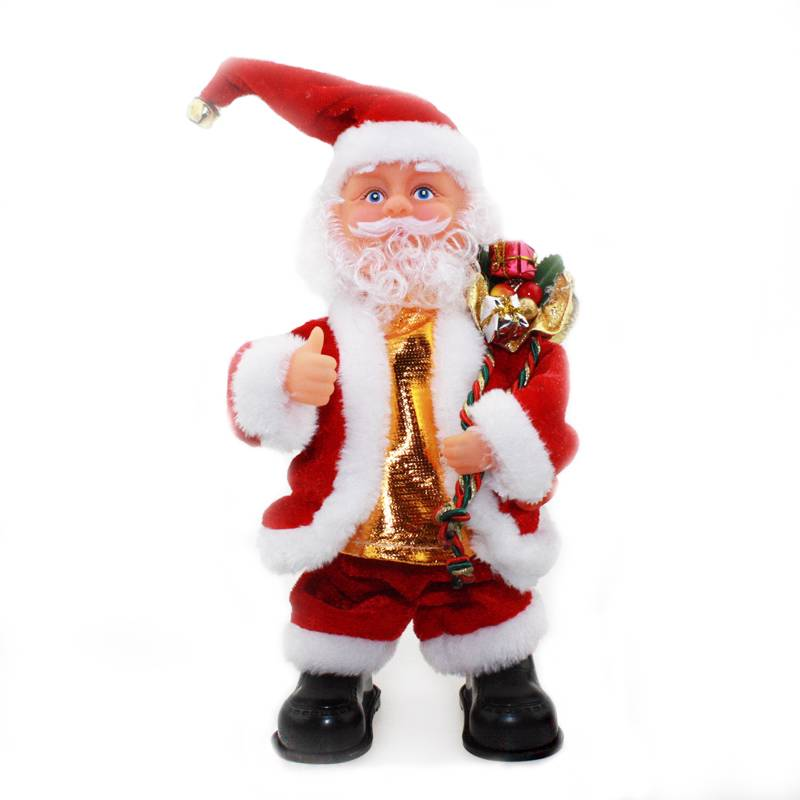 Animated Christmas Toys : New music xmas christmas toy animated santa claus gift