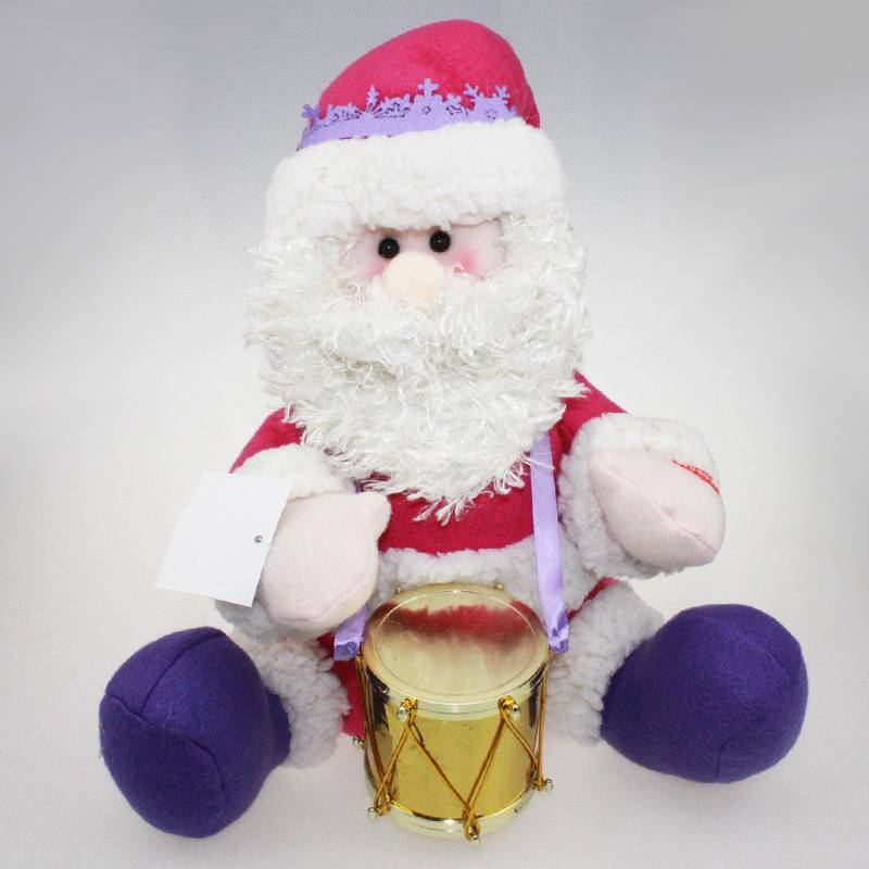 New music xmas christmas toy funny animated santa claus for Animated santa claus decoration