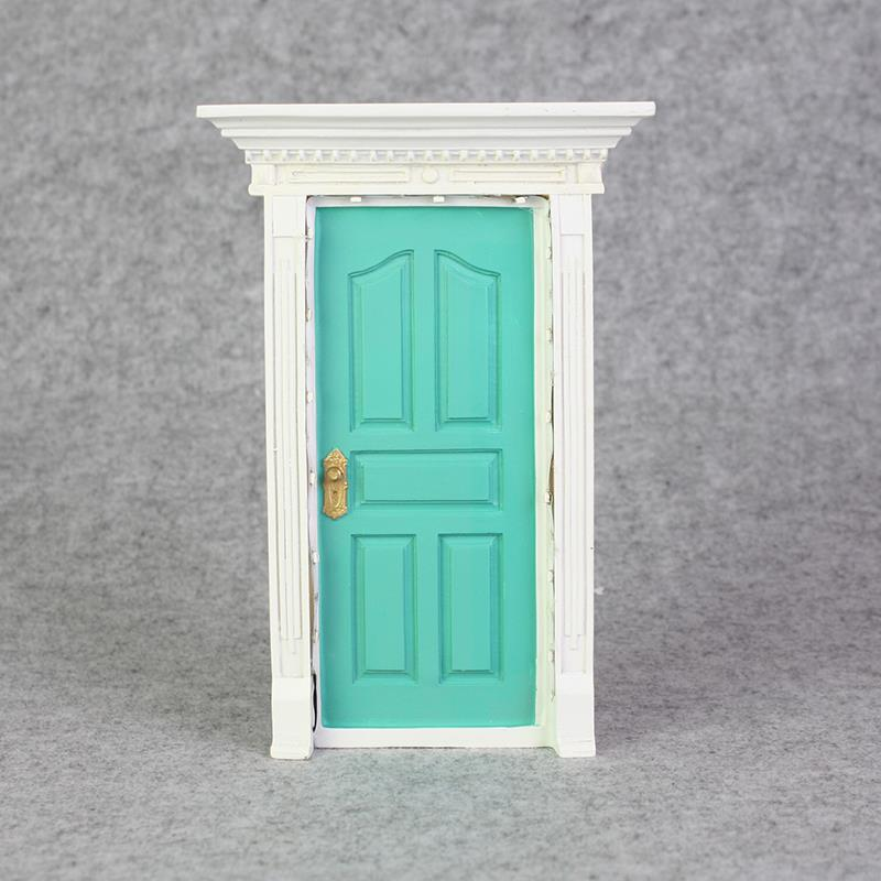 Secret fairy door with led light wall garden home for Secret fairy doors by blingderella