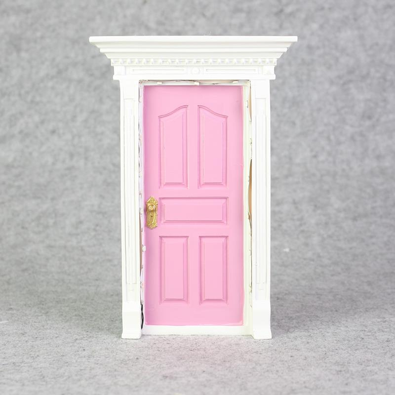 Secret fairy door with led light wall garden home for Fairy door for wall