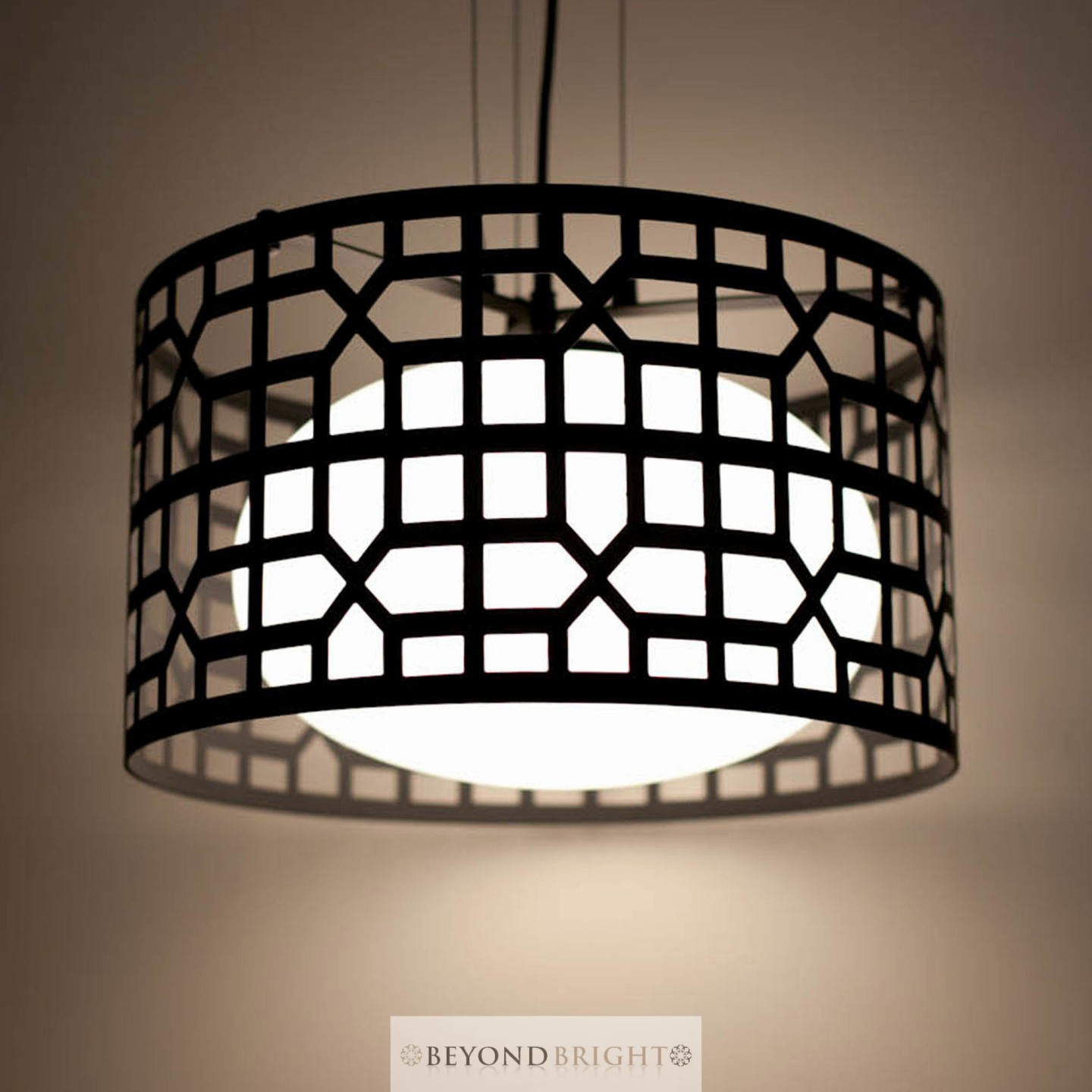 new modern pendant ceiling light black glass iron lamp shade hanging